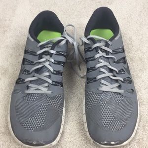 Nike Free gray and black- 14